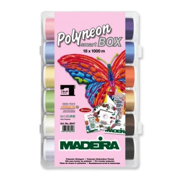 Madeira Smartbox Polyneon No.40 (18 Farben/ 1000 m)