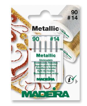 MADEIRA Sticknadel No. 90 Metallic