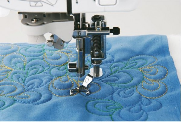 Brother Quilt-Applikationsfuß 7mm offen