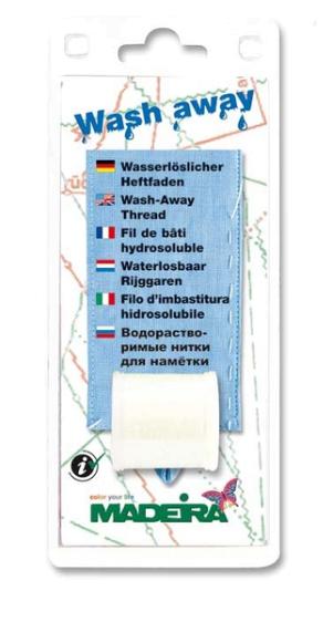 MADEIRA Wasserlöslicher Heftfaden 200m Spule